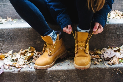 FitWithMeShelby x Finish Line x Timberland